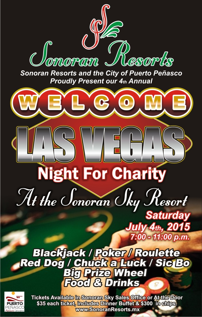 Sonoran Resorts Las Vegas 2015 Poster